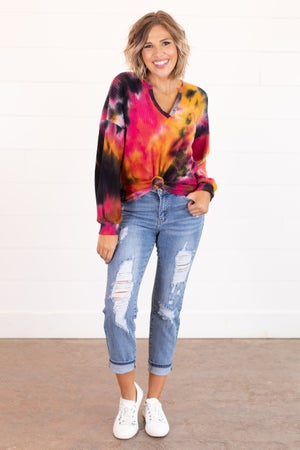 sku15931 | Destroyed Relaxed Fit Jeans
