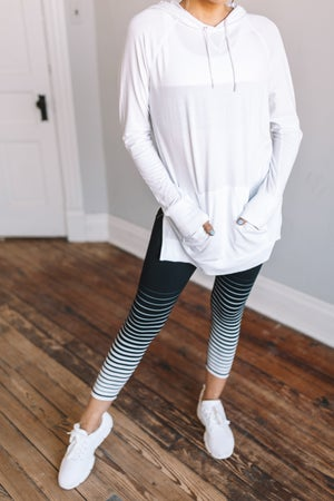 sku18818 | Gradiant Striped Active Leggings