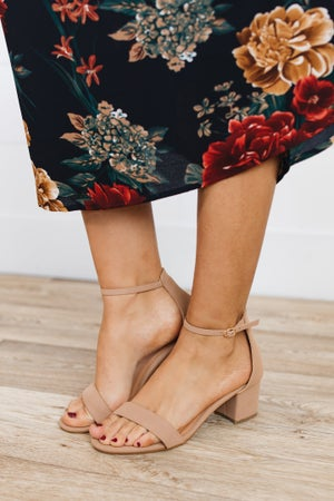 sku18943 | Darcie Block Heel Sandal