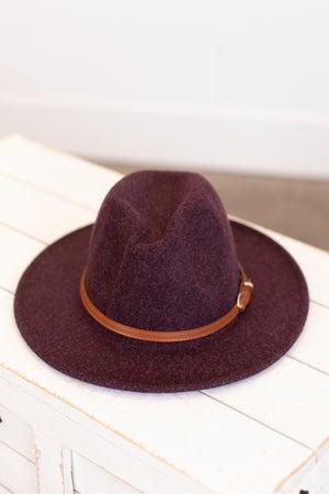sku16238 | Belted Fedora Hat