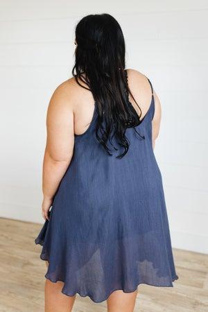 sku20862 | Crinkle Knit Cami Dress