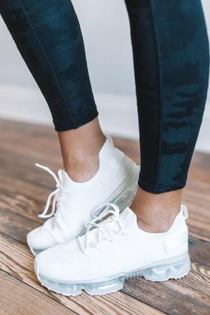 sku19083 | Flow Mesh Platform Sneakers