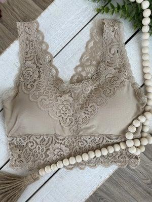 sku20841   Padded Lace Bralette