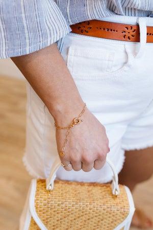 sku18569   Chain Link Bracelet