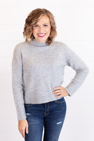 sku17473 | Mock Neck Sweater