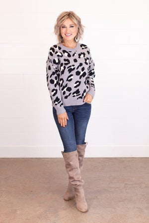 sku16055 | Animal Print Sweater