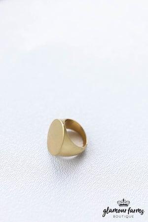 sku12310   Round Metal Ring