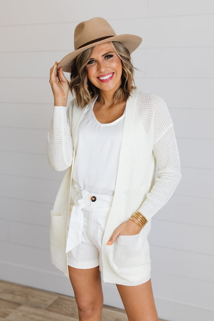 sku18768 | **Daily Deal** Open Knit Cardigan