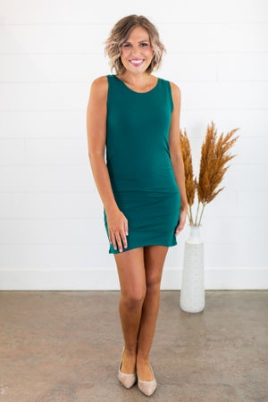sku15221 | **Daily Deal** Ruched Tank/Dress