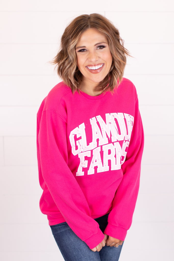 sku14716 | Glamour Farms Graphic Sweatshirt