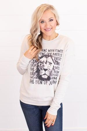 sku17419 | Lion Of Judah Graphic Sweatshirt