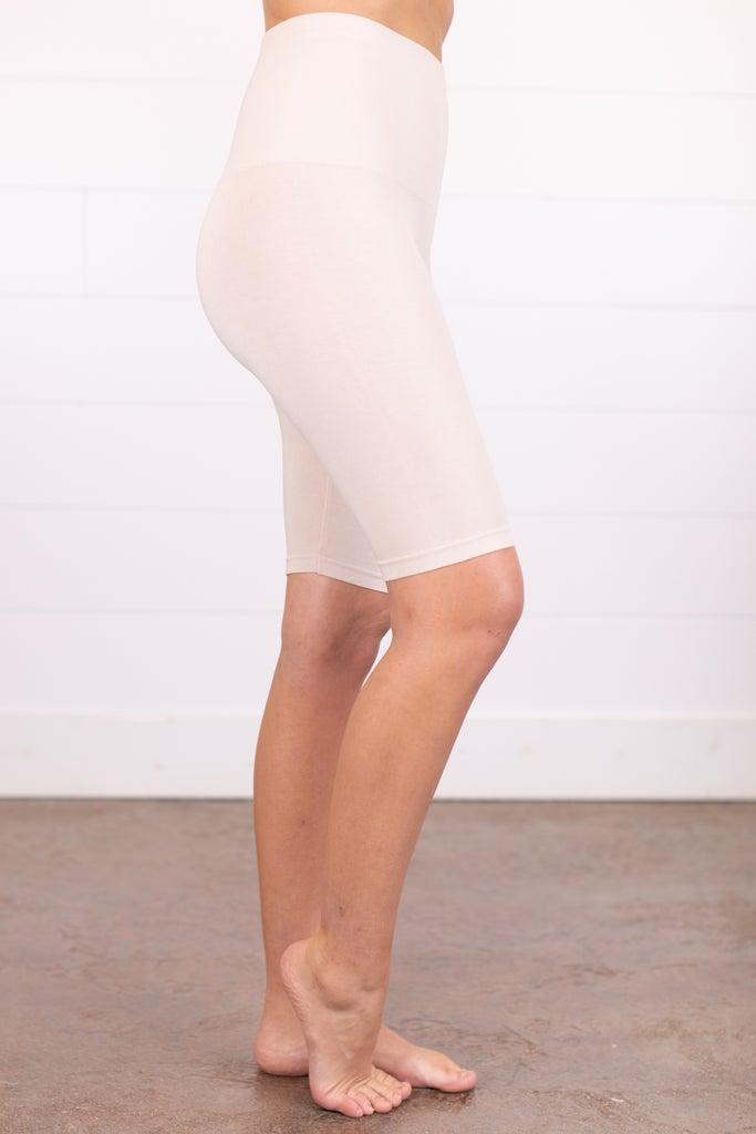 sku018m | Ahh-mazing Tummy Tuck Long Seamless Shorts