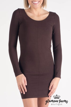 sku008m | Ahh-mazing Long Sleeve Dress Shaper