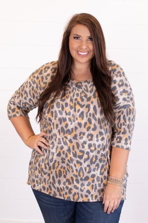 sku16720 | Animal Print Tunic