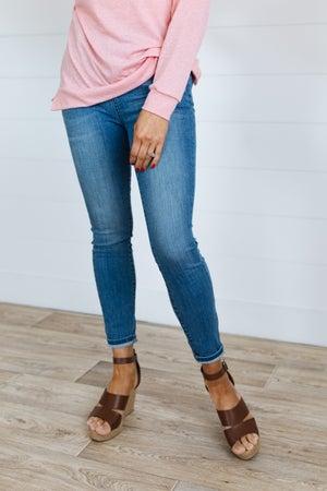 sku19909 | High Rise Skinny Jeans