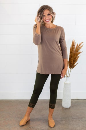 sku15243 | **Daily Deal** Button Detail Tunic