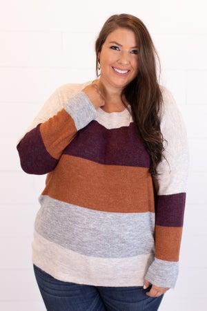 sku15360 | Color Block Sweater