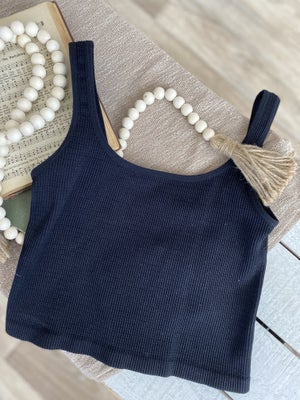 sku19151 | **Daily Deal** Textured Knit Crop Tank