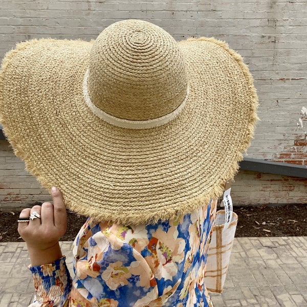 The Ryanne Straw Hat