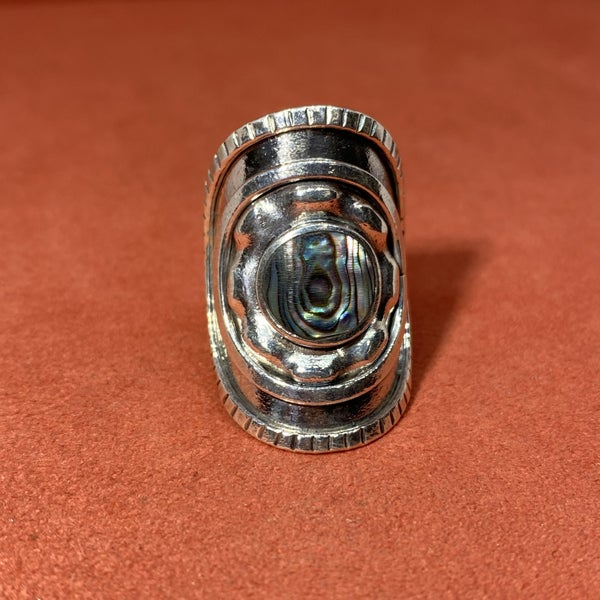 Abalone Shield Ring