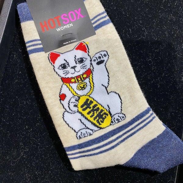 Lucky Cat Socks