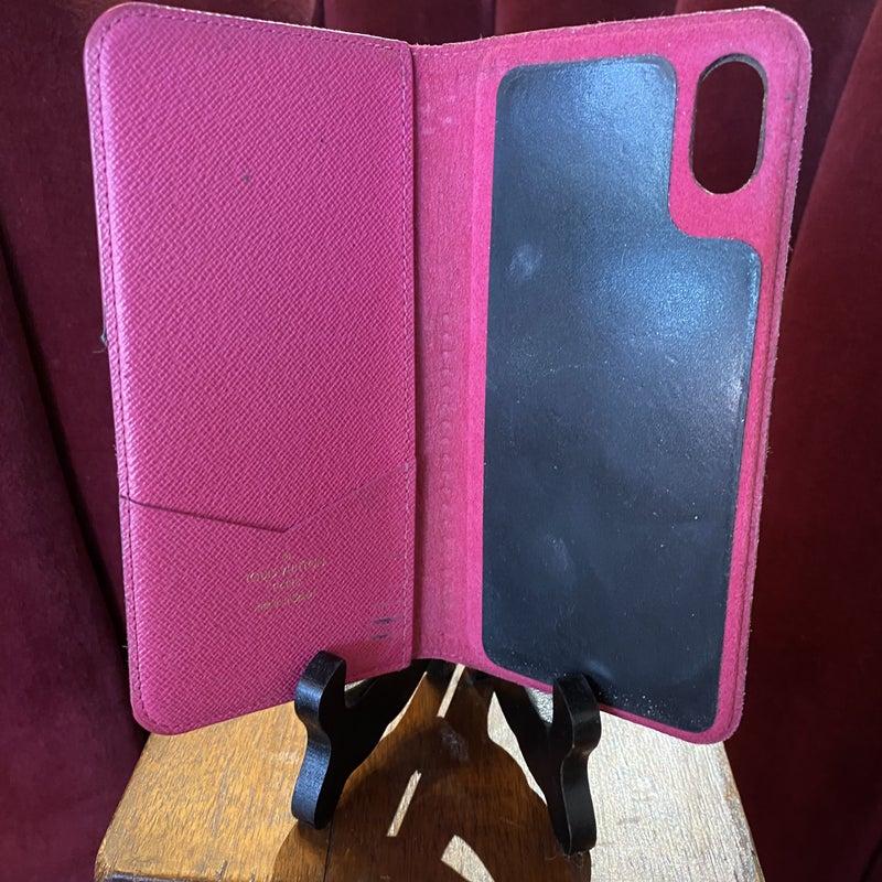 Louis Vuitton iPhone X Folio Case