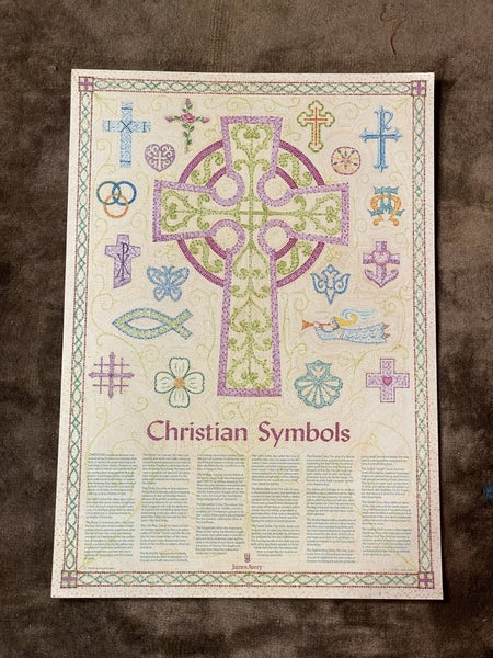James Avery 2011 Christian Symbols Poster