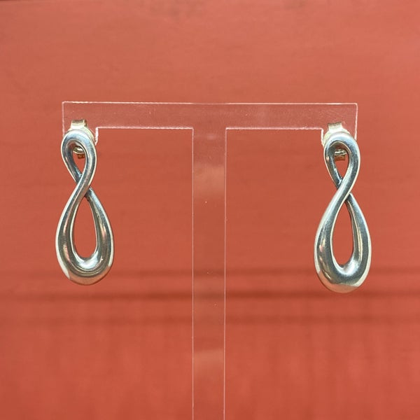 Retired James Avery Infinity Earrings