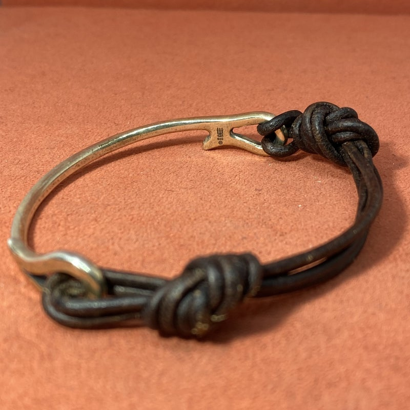 "James Avery ""As You Wish"" Leather Bracelet"