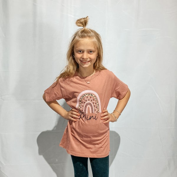 MINI Rainbow Graphic Kid's Shirt