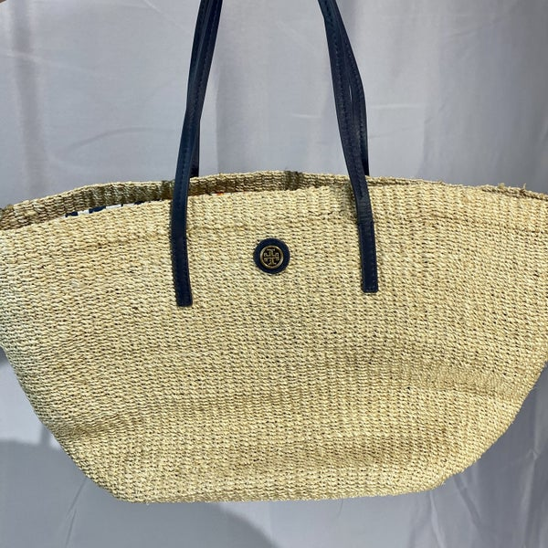 Tory Burch Straw Beach Bag