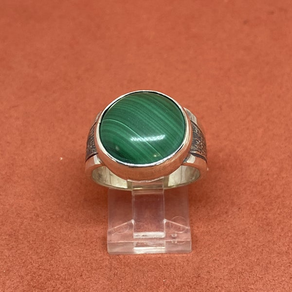 Marcos Villarreal Malachite Ring
