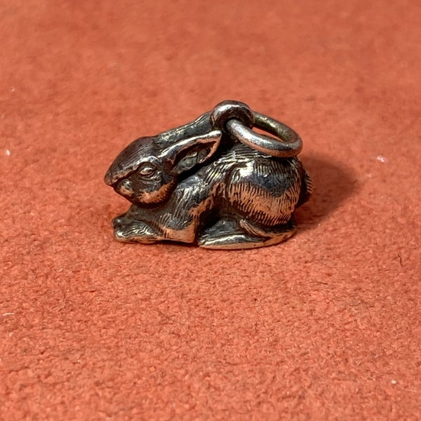 Rare & Retired James Avery 3D Bunny Rabbit Charm