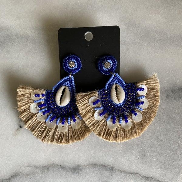 Island Time Puka Shell Earrings