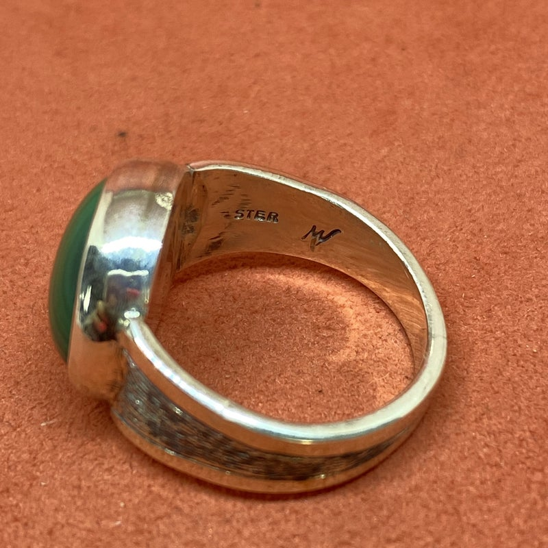 Marcos Villarreal Malachite Ring