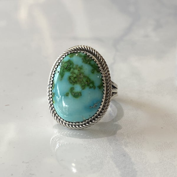 Sonoran Gold Turquoise Ring #1