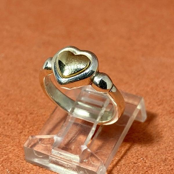 James Avery Retired True Heart Ring