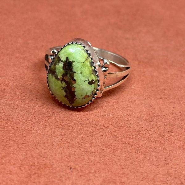 Senoran Gold Turquoise Ring