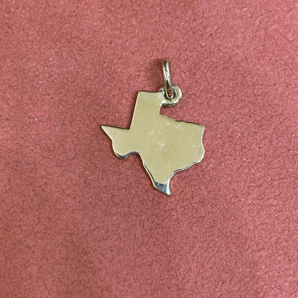 James Avery Texas Charm 14k Gold