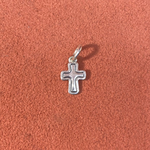 Retired James Avery Santa Barbara Cross Charm