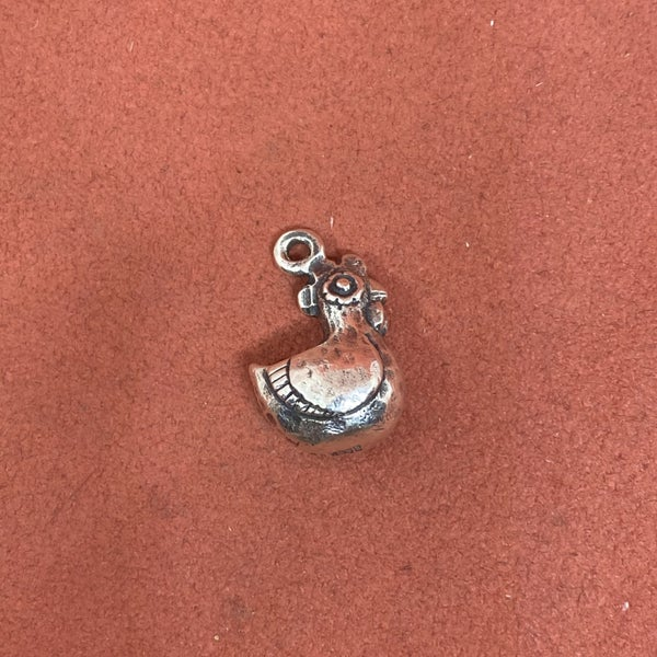 RARE James Avery 3D Rooster Charm