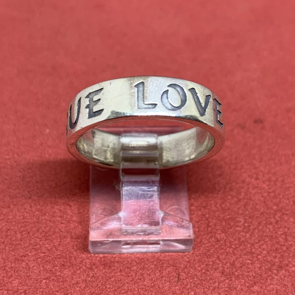 """James Avery Sterling Silver """"True Love Waits"""" Ring"""