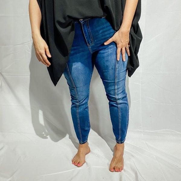 Judy Blue Mid Seam Stitch Skinny Jean