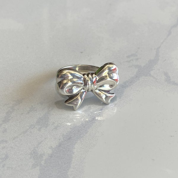 Sterling Silver Bow Ring