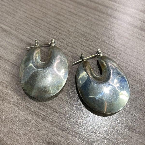 Chunky Hoop Earrings
