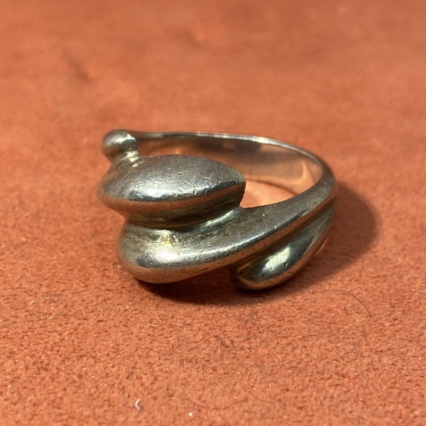 Sterling Silver Wave 2.0 Ring