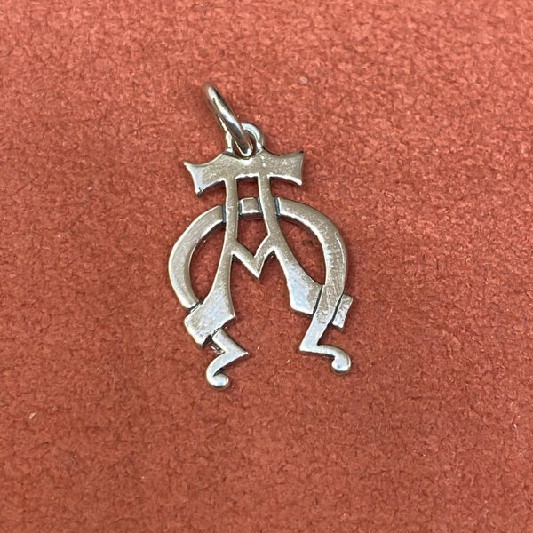 James Avery Alpha and Omega Charm