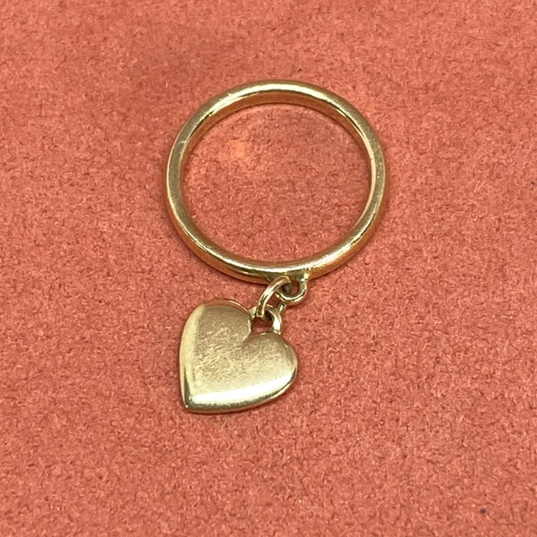 James Avery Gold Heart Ring