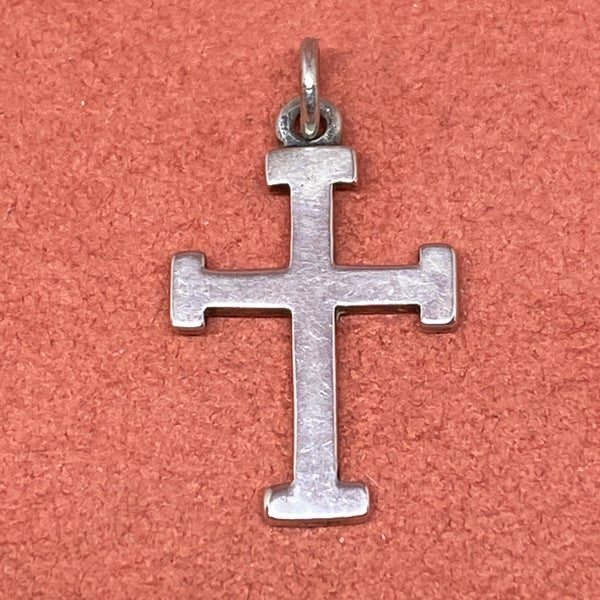 Retired James Avery Cross Charm