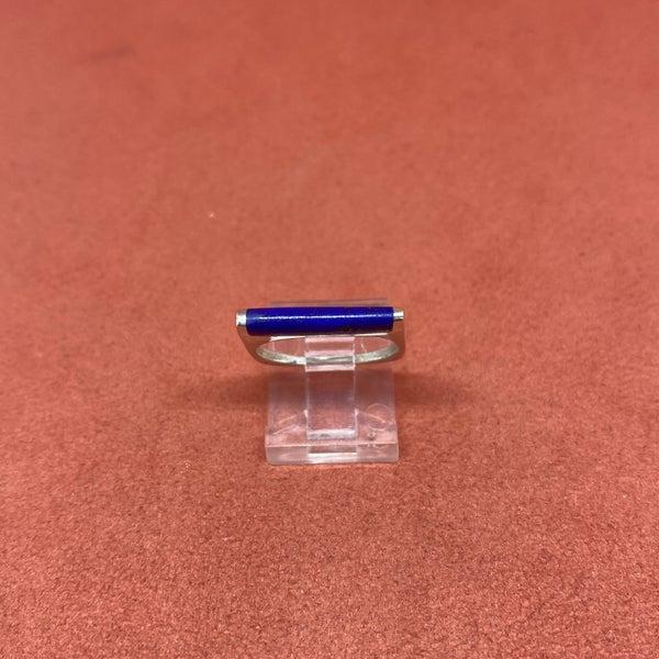 Lapis Square Ring